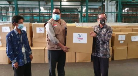 Taiwan Donates 300,000 Medical Masks to Indonesia