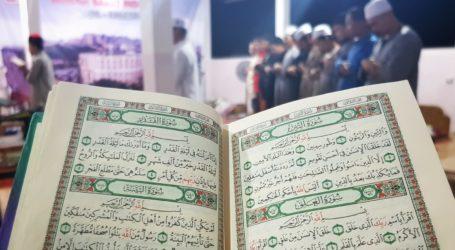 Laylat Al Qadar, Indonesian Volunteers in Gaza Perform Taraweeh Prayer