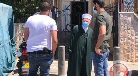 Al-Aqsa Mosque Imam, Sheikh Ikrima Sabri Arrested