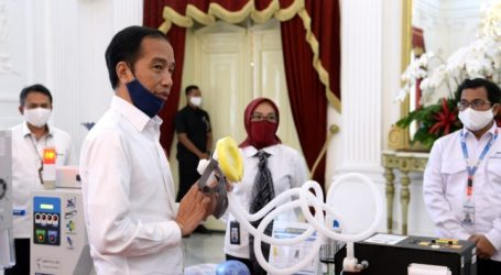 President Launches 55 Medical Devices for Handling Covid-19