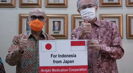 Indonesia Receive 12,200 Avigan Tablets from Japan for Covid-19 Handling