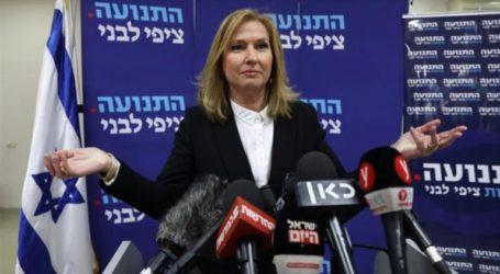 "Former Israeli Foreign Minister Livni: Annexation is ""Mistake History"""