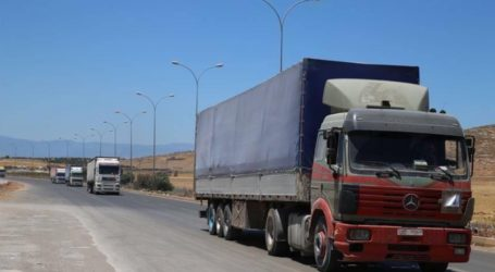 UN Sends 112 Truckloads of Aid to Idlib, Syria