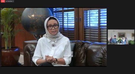 Minister Retno: Politicization of COVID-19 Vaccine Must Be Avoided