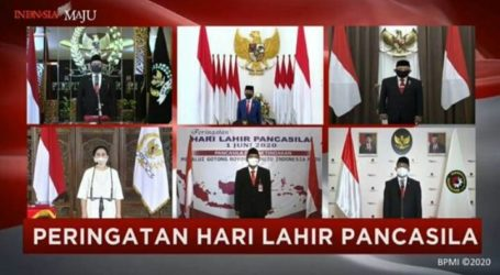 "Indonesian ""Pancasila"" Birthday Ceremony Held Virtually"