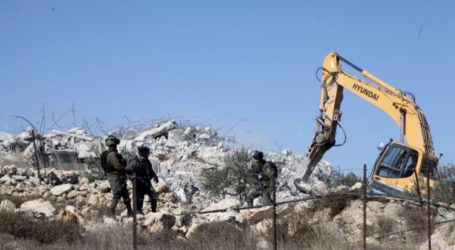 UN: Israel Demolished 31 Palestinian Structures in Past Two Weeks