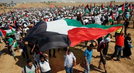 Thousands of Gazans Protest Against Annexation