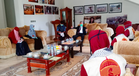 Mae_C Strengthens Cooperation with Palestinian Embassy