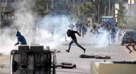 Dozens of Palestinians Injured in Anti-Illegal Settlements Protest