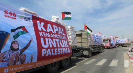 Indonesia Distributes IDR 36.5 Billion of Humanitarian Aid to Palestine