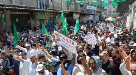 March in Gaza Calls for Unity Against Israeli Annexation