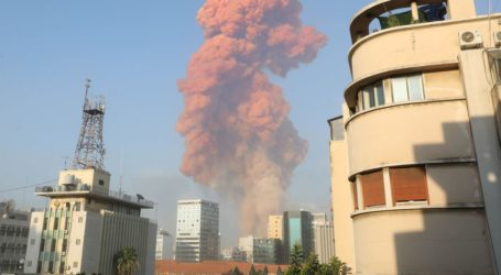 Two Powerful Explosions Rock Beirut