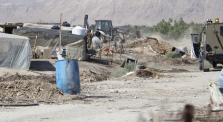UN: Israel Demolishes 25 Palestinian Structures in Two Weeks