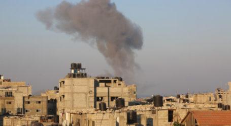 For Three Weeks, Israeli Warplanes Attack Targets in Gaza Strip