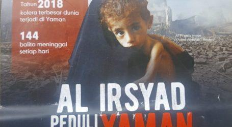 Indonesia's Laznas Al-Irsyad Opens Infaq Cares for Yemen