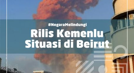 Indonesian Government Conveys Condolence over Explosion in Beirut