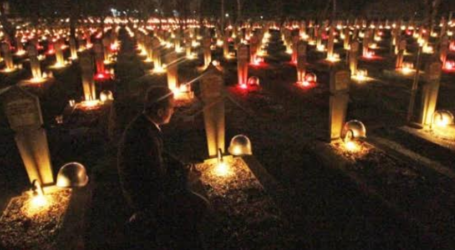 75th Indonesian Independence Day, President Leads A Sacred Meditation at Heroes Cemetery