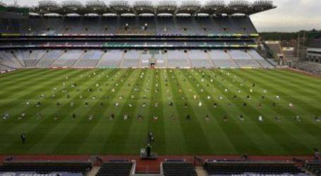 Irish Muslims Hold Eid Al-Adha Prayer at A Sports Stadium