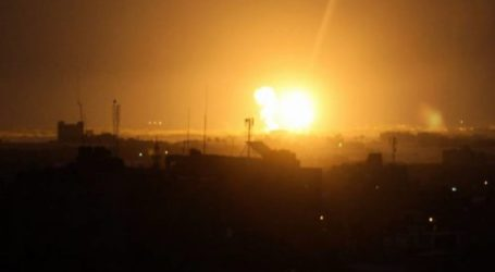 Israel Warplanes Returned to Attack the Gaza Strip Early Wednesday