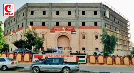 Indonesian Hospital in Gaza Become Referral for COVID-19 Patients