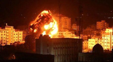Israeli Warplanes Still Continue Attack On Gaza