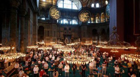 Thousands of Muslims Pray Eid al-Adha at Hagia Sophia Mosque