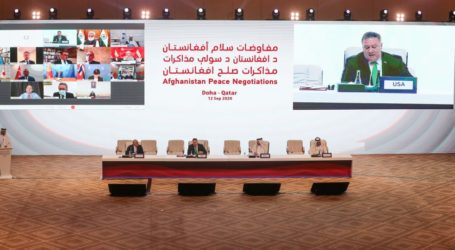 Peace Talks' Afghan Government and Taliban Begins in Doha