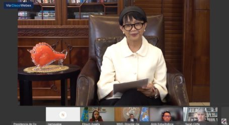 Minister Retno Calls for Equal Health Access to Fight Covid-19