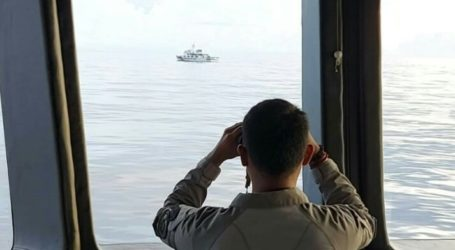 Chinese Coast Guard Don't Want to Leave from Indonesian ZEE in North Natuna Sea