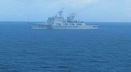 The Chinese Ship Finally Exits from Indonesian Waters in the North Natuna Sea