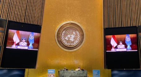 Minister Retno Conveys Two Messages in the UN 75th Anniversary
