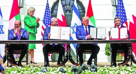 UAE-Bahrain Officially Sign Normalization Agreement with Israel
