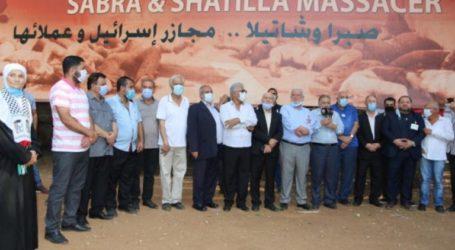 Lebanese National Army and Palestinian Factions Commemorate Sabra Shatila Massacre