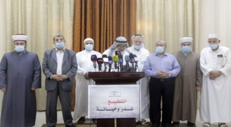 Palestinian Ulema: Normalization is A Religious and Humanitarian Crime
