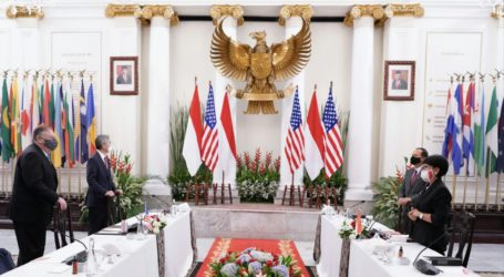 Indonesian-US Foreign Minister Discuss Palestinian Issue