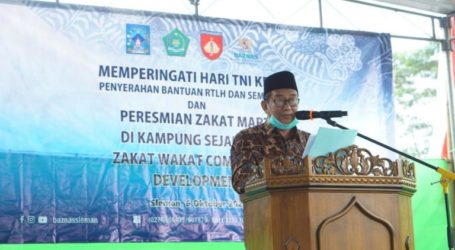 Ministry of Religion Inaugurates Zakat and Waqf Villages in Yogyakarta