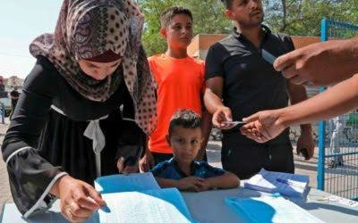 EU Offers Assistance to Organize Palestinian Elections