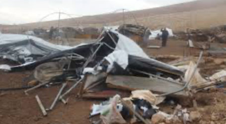 UK Concerned Over Israel's Demolition of Humsa Al-Baqai'a
