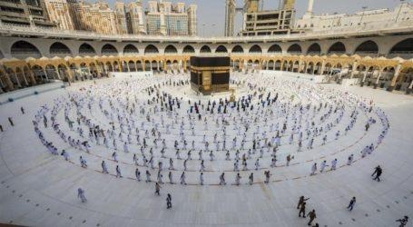 As 224 Indonesian Pilgrims Began to Perform Umrah