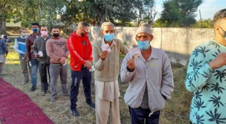 Kashmir India's Administered Begins First Election