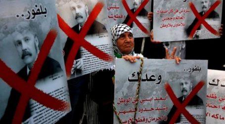 PLO: Balfour Declaration is the Beginning of Israeli Crime