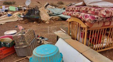 Israeli Bulldozers Destroy Palestinian Village in Khirbet Homsa