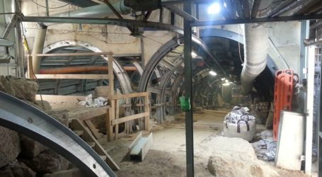 Israeli Zionists Dig New Tunnels on East Side of Al-Aqsa Mosque
