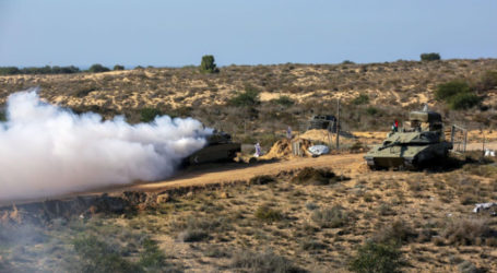 Palestinian Factions Hold Join Military Drills in Gaza
