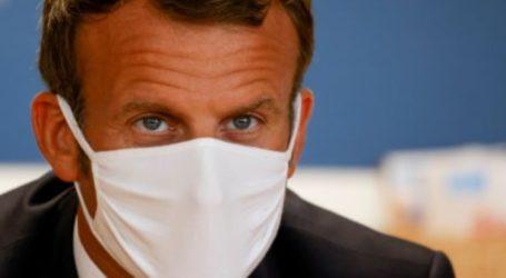 French President Emmanuel Macron Positive Covid-19