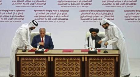 Afghanistan-Taliban Continue Second Round of Peace Talks in Doha