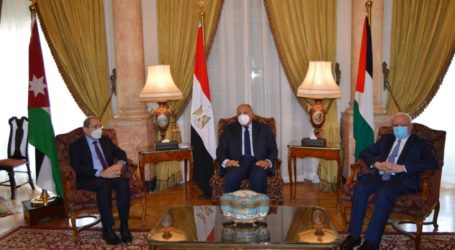Palestine, Egypt and Jordan Agree on Palestinian As Central Arab Issue