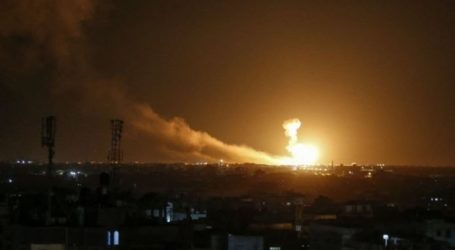 Report: Israel Army Carried Out 300 Attacks on Gaza Strip in 2020