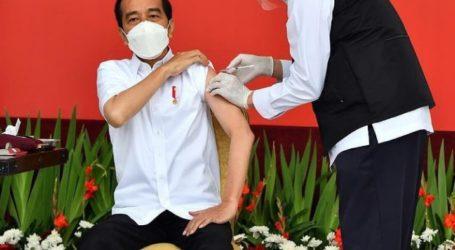President Joko Widodo Receive First Dose of COVID-19 Vaccine