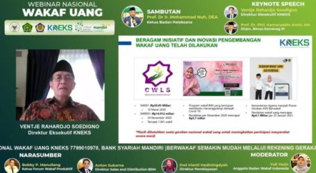 KNEKS: Cash Waqf is Important for National Economy
